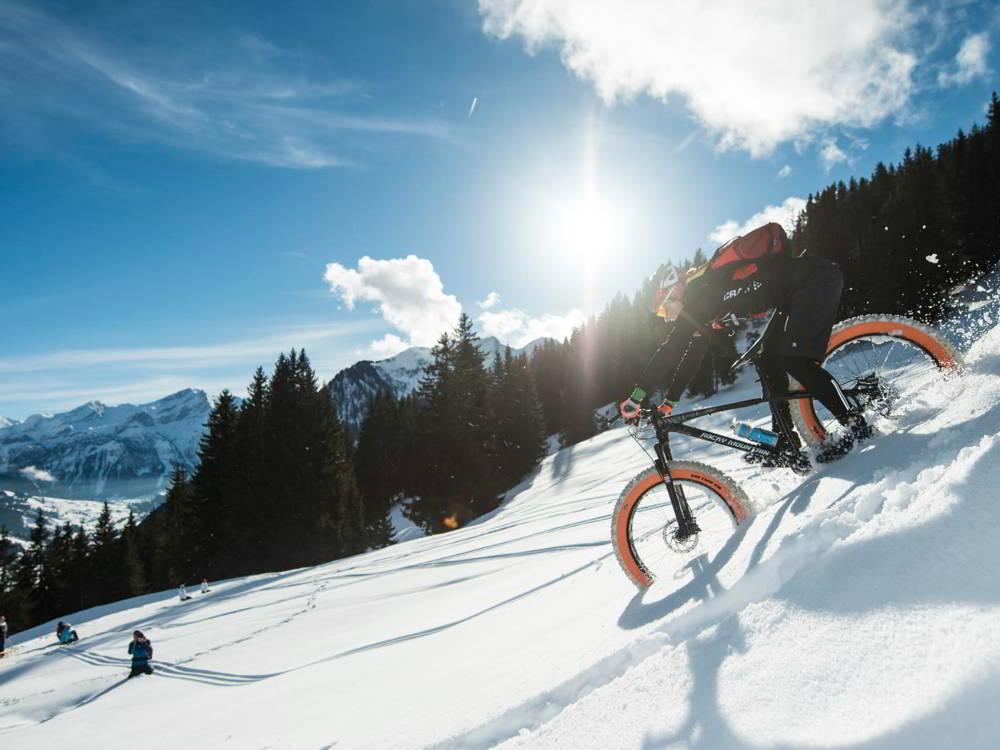Zimowe wycieczki rowerowe